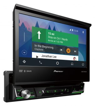 PIONEER AVH-Z7250BT 7''SINGLE DIN FOLD WITH APPLE CARPLAY & ANDROID AUTO